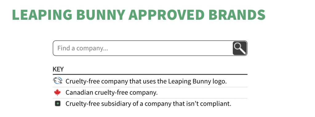 Leaping Bunny Database Search