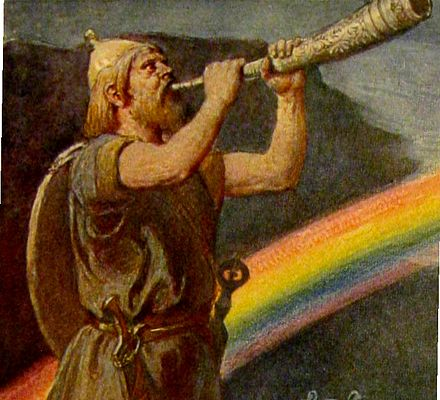 Rainbow Bridge may have been based on the Bifröst bridge of Norse Mythology